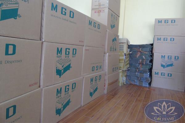 lô sản phẩm máy MGD hàn quốc