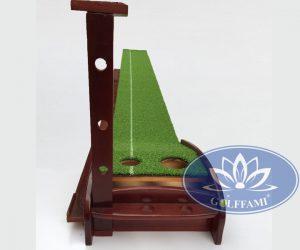 Thảm tập golf putting gỗ