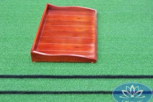 Khay đựng bóng golf gỗ