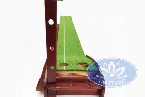 Bộ tập golf putting gỗ đẹp - Golffami