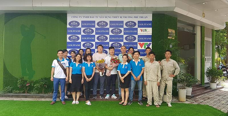 đơn vị thi công sân tập golf uy tín golffami
