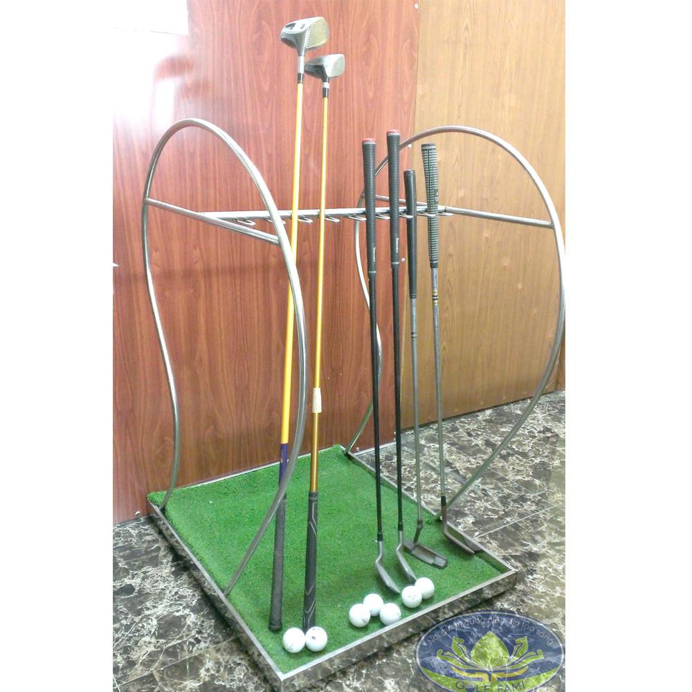Giá để gậy golf inox