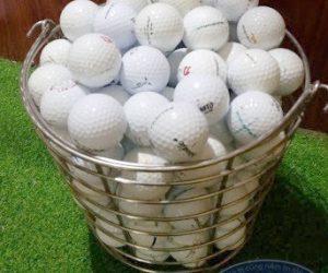 Giỏ đựng bóng golf inox cao cấp