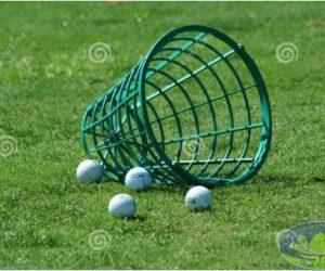 Giỏ đựng bóng golf nhựa đẹp