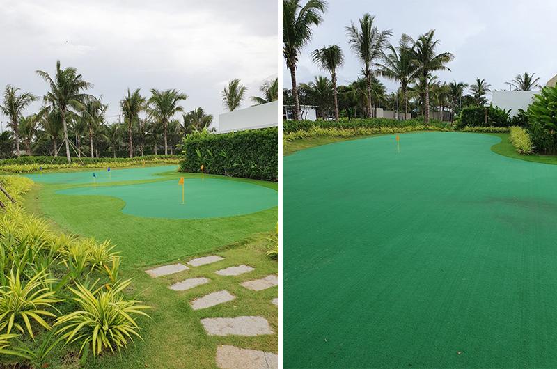 green golf hồ tràm