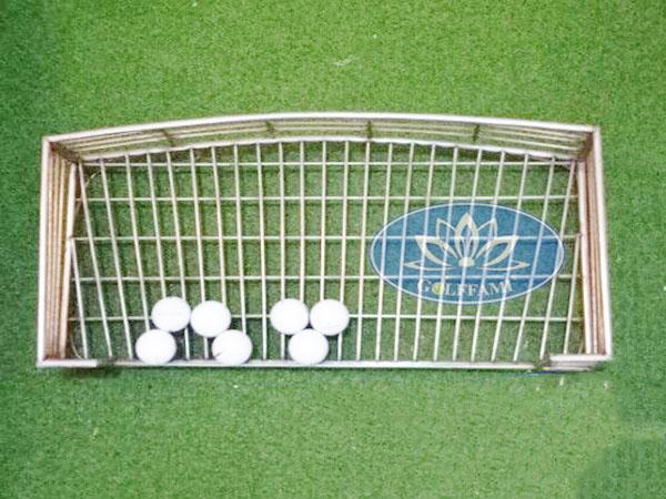 Khay đựng bóng golf inox Golffami