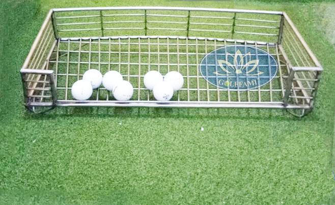 Khay đựng bóng golf Inox