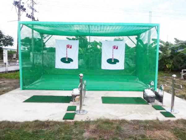 Bộ khung tập golf swing kép