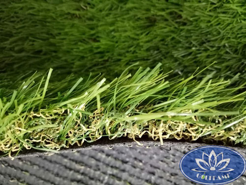 Mặt ngang cỏ nhân tạo sân vườn CNT14