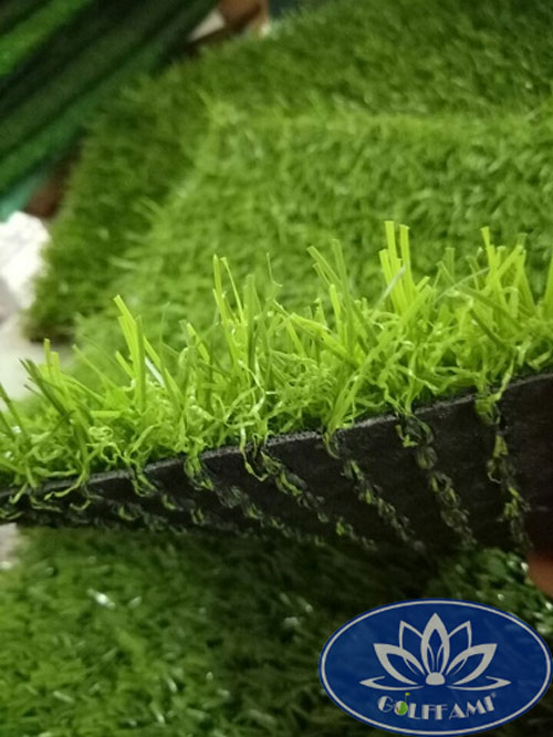 Mặt ngang cỏ nhân tạo sân vườn CNT13