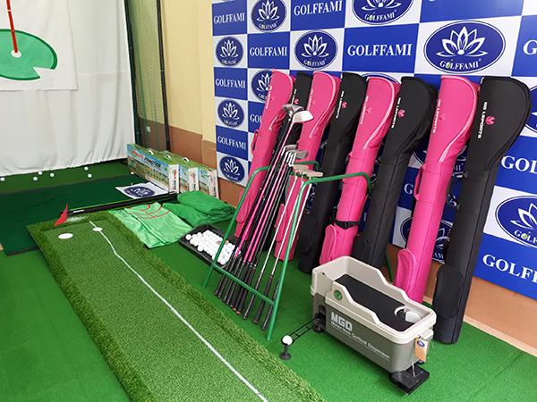 Putting golf green cao su trong bộ các thiết bị tập golf