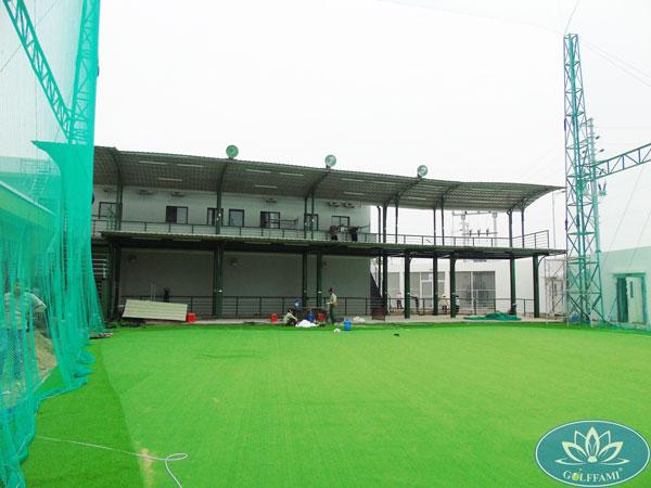 Sân tập golf Famille Hà Nam đang trong giai đoạn hoàn thiện