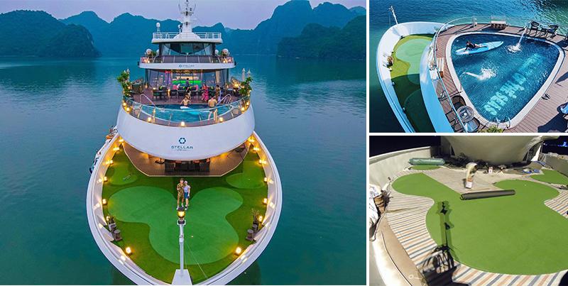 green golf du thuyền quảng ninh