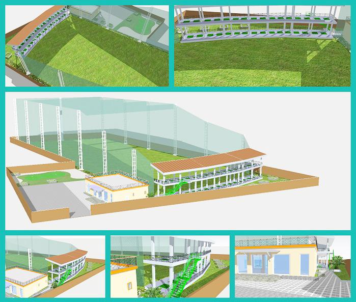Thiết kế thi công sân tập golf cao cấp
