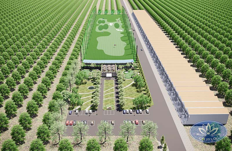 Thiết kế sân tập golf