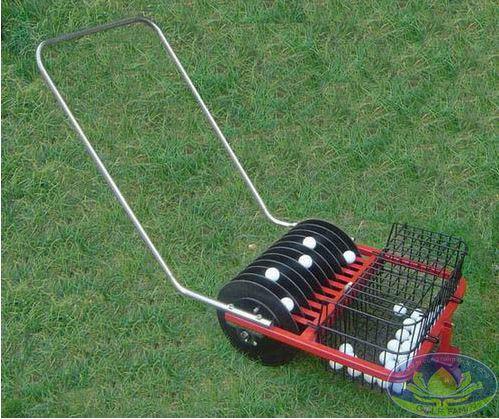 Xe nhặt bóng golf TBG09 cỡ nhỏ 2 khay đựng bóng