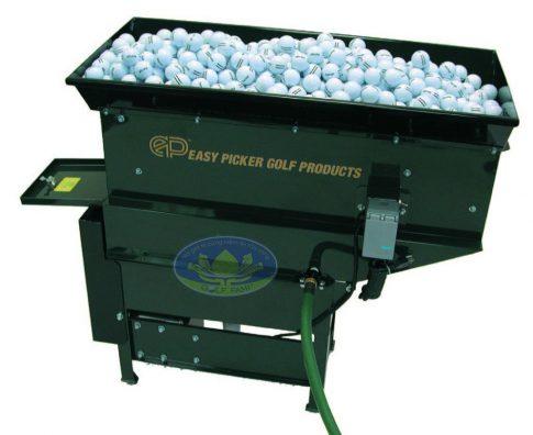 máy rửa bóng golf