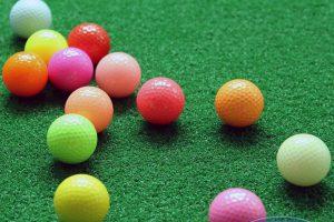 Bóng golf màu đẹp sang trọng