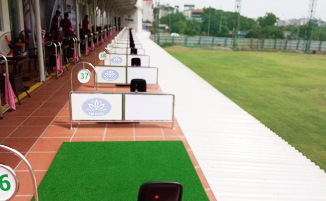 Thiết kế thi công sân tập golf Golffami