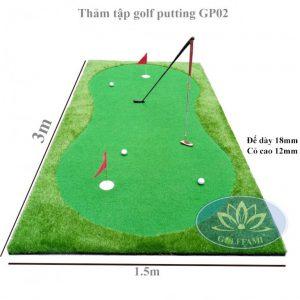 Golffami bán thảm tập golf putting cao cấp