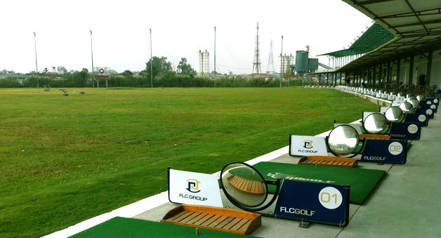 Sân tập golf FLC Golfnet 2