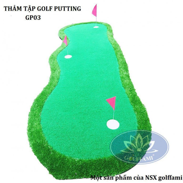 Thảm tập Golf Putting GP03