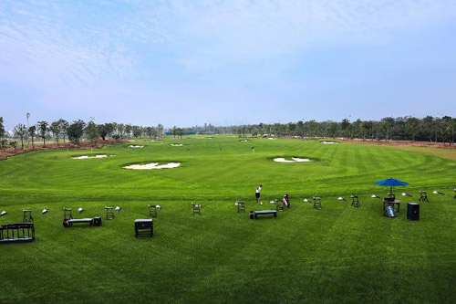 Học viện Golf EPGA nhìn từ trên cao
