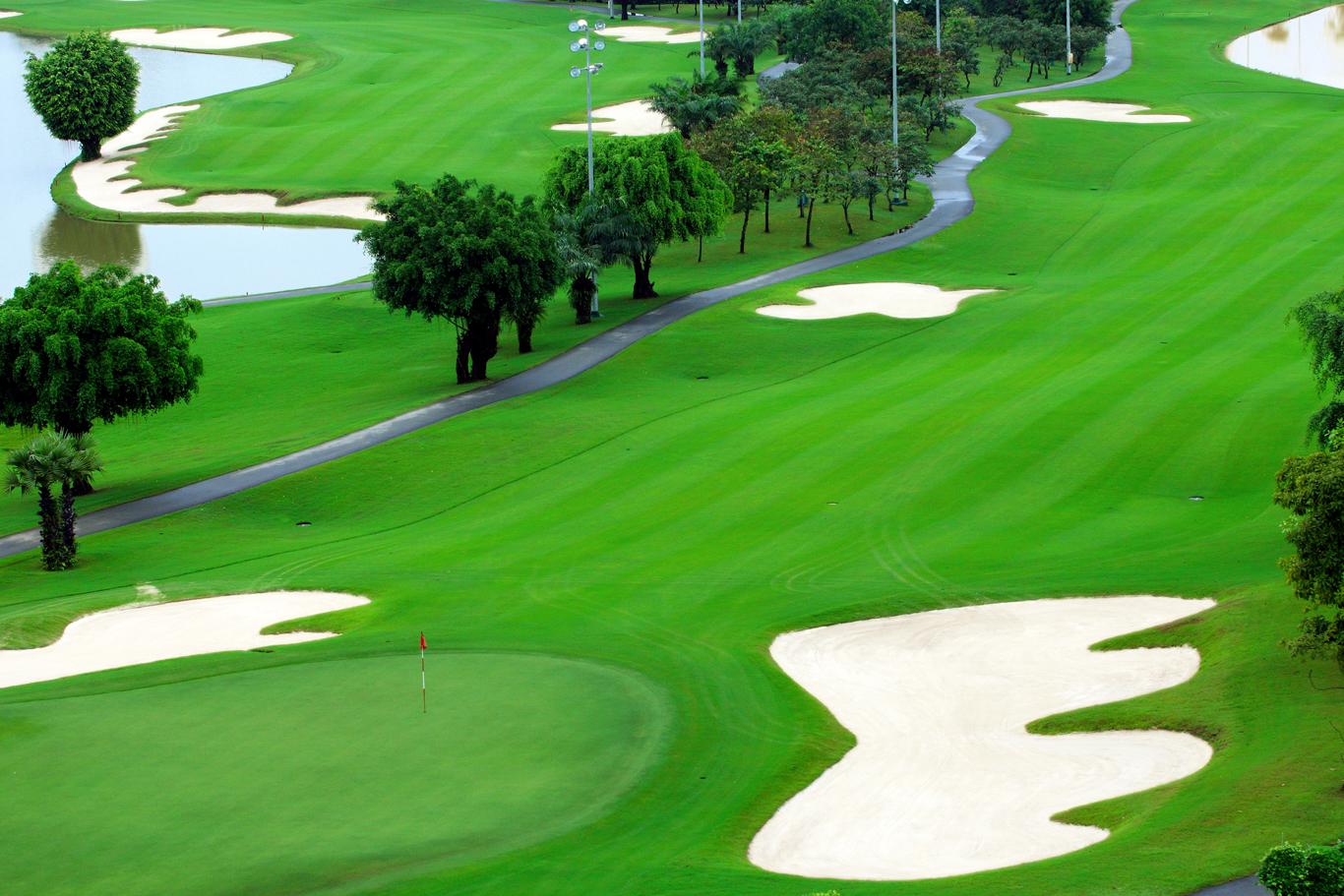 Một góc của sân golf Long Thành