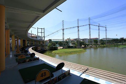 Sân tập Golf Cảnh Hồ