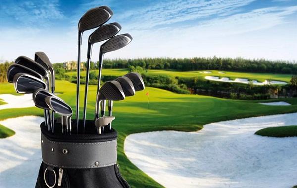Sân golf 18 lỗ được thiết kế đạt tiêu chuẩn quốc tế