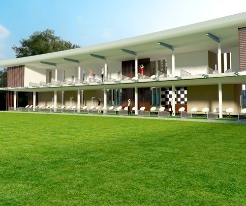 Sân tập Golf Quản Trung