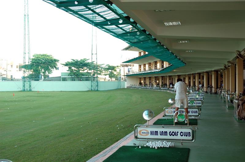 Sân tập Golf Him Lam