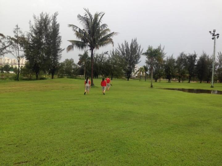 Sân tập Golf Phú Mỹ Hưng