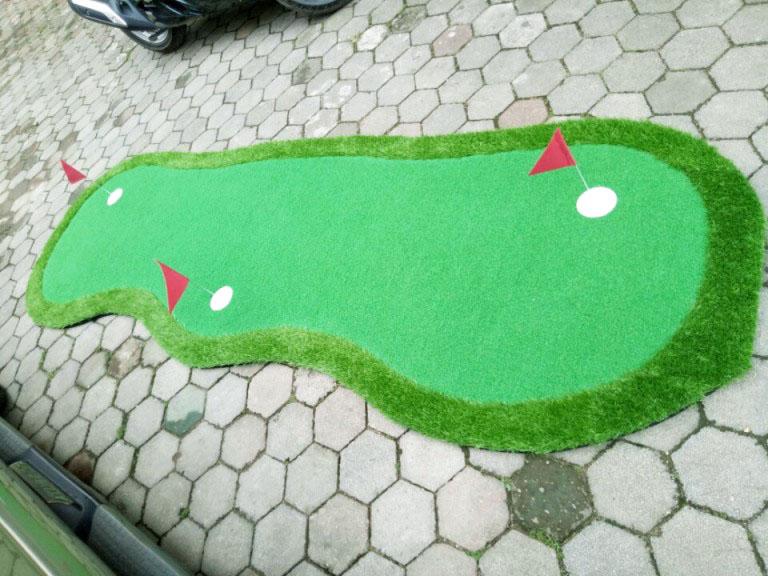 Ảnh thảm tập golf Putting GP03 từ khách hàng của Golffami