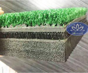 Lát cắt ngang thảm tập golf 3d Hàn Quốc