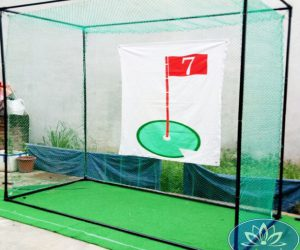 Bộ khung và lưới tập swing 3m x 3m x 3m của Golffami