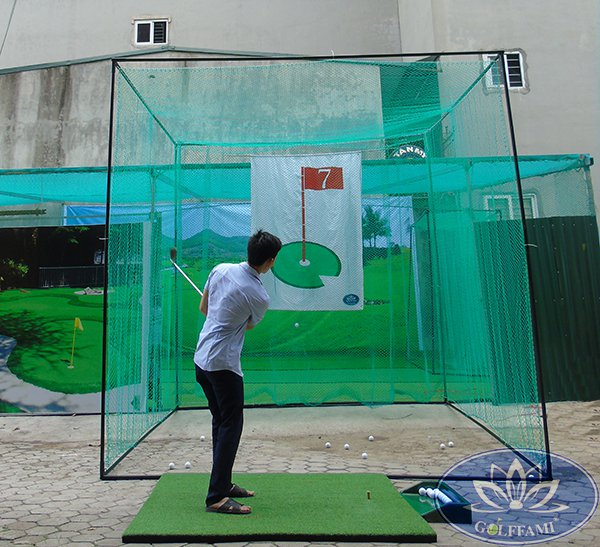 Bộ khung và lưới tập Swing Gomik51-2