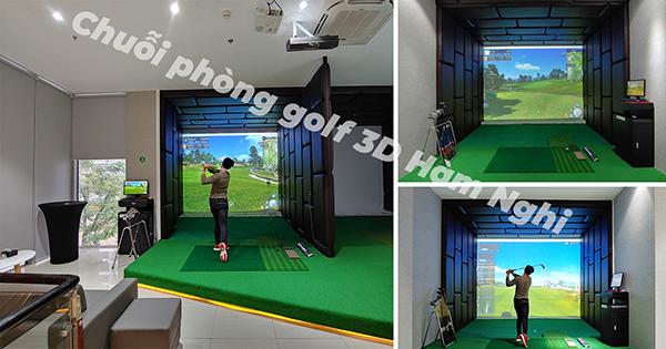 chuỗi phòng golf 3d hàm nghi