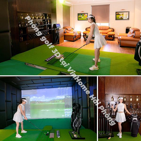 Phòng tập Golf 3D Hải Phòng