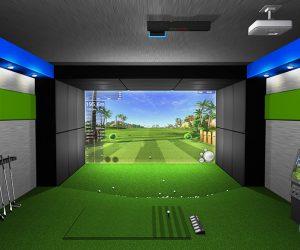 Mô hình phòng tập golf 3D mới