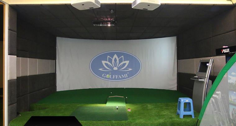 Lắp đặt phòng tập golf 3D