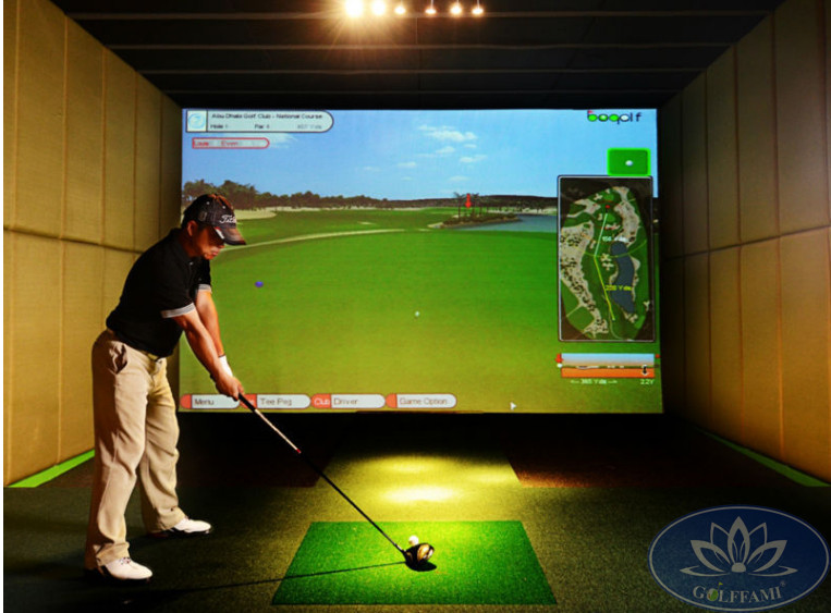 Mô hình phòng tập golf 3D Hàn Quốc