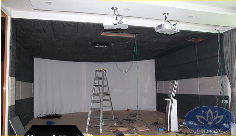 Lắp đặt phòng tập golf 3D HQ