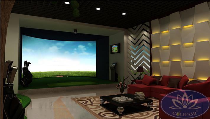 Mô hình sân tập golf 3D hàn quốc