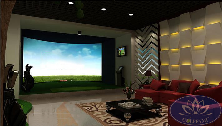 Phòng tập golf 3D hiện đại