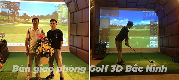 phòng golf 3d bắc ninh