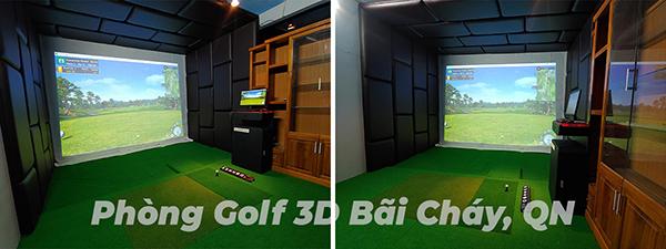 phòng golf 3d quảng ninh