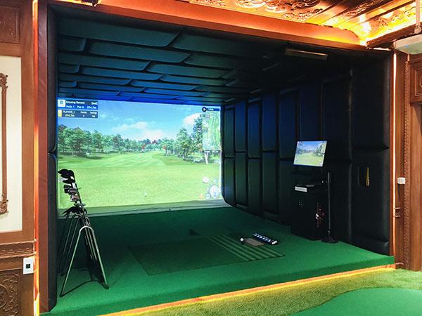 phòng tập golf 3d nam định