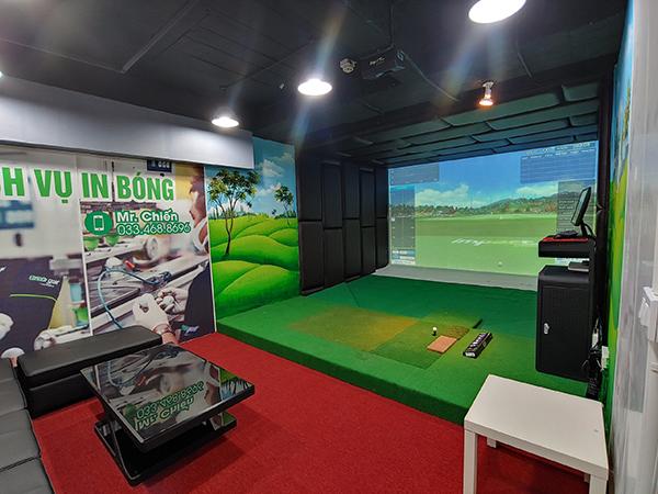 phòng golf 3d ngô thì nhậm