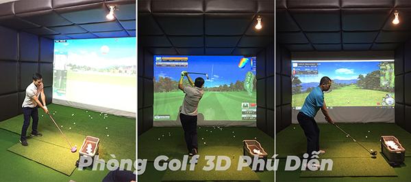 phòng golf 3d phú diễn hà nội